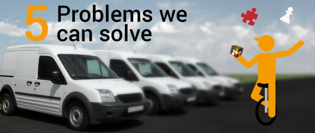 5 Problems We Can Solve