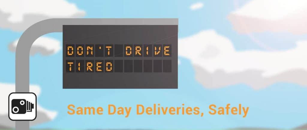 Same Day Deliveries, Safely
