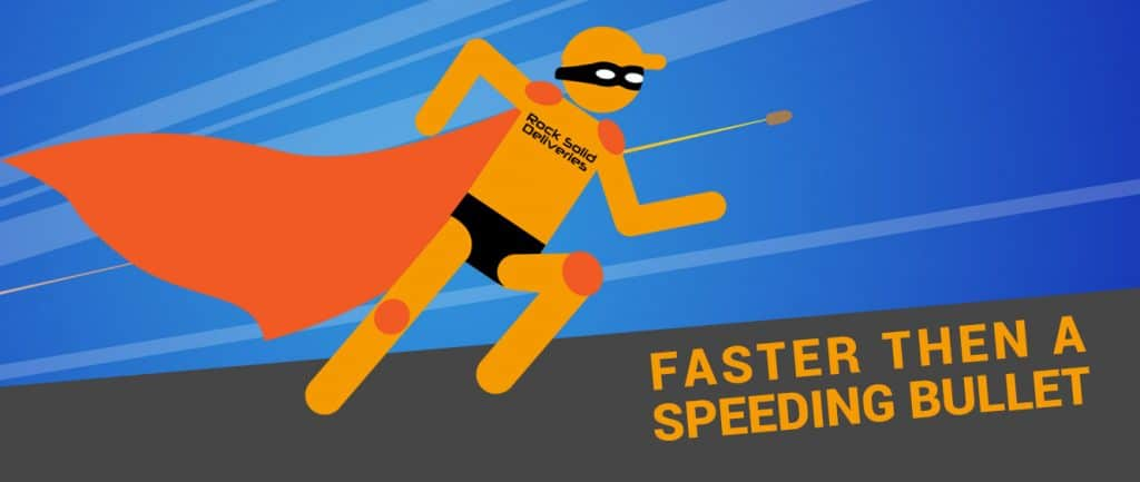 Faster Than A Speeding Bullet!