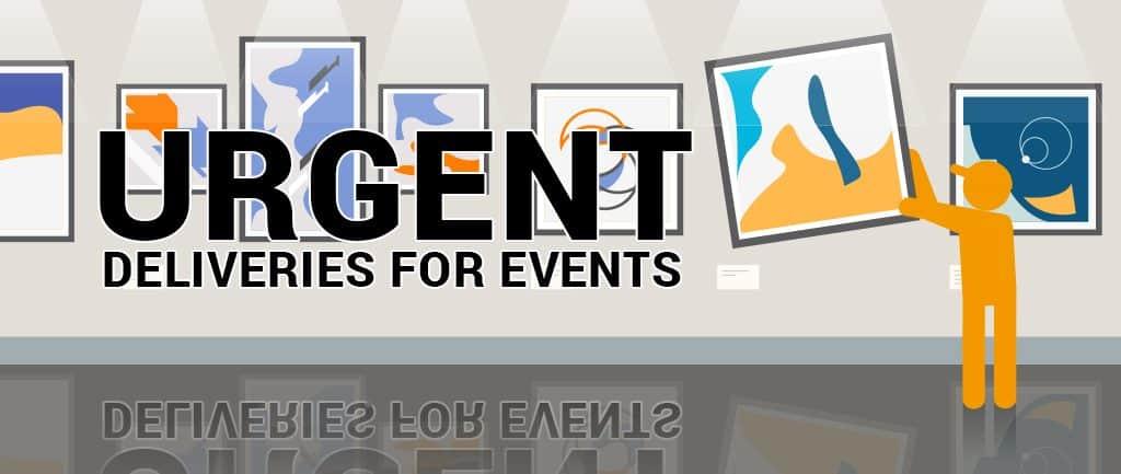 Urgent Deliveries For Events